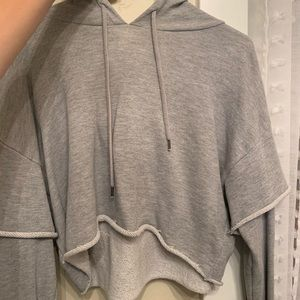 Super cute comfy crop hoodie